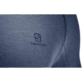 Salomon Pulse Seamless Running Shirt longsleeve Men blue